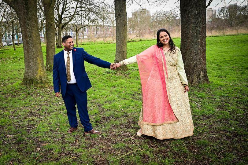 Indian wedding in Dagenham