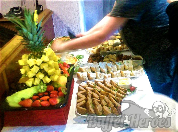 Cheese & Pineapple Fruit Plate