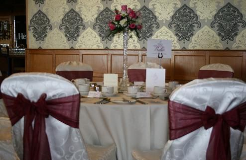Chairs and sashes