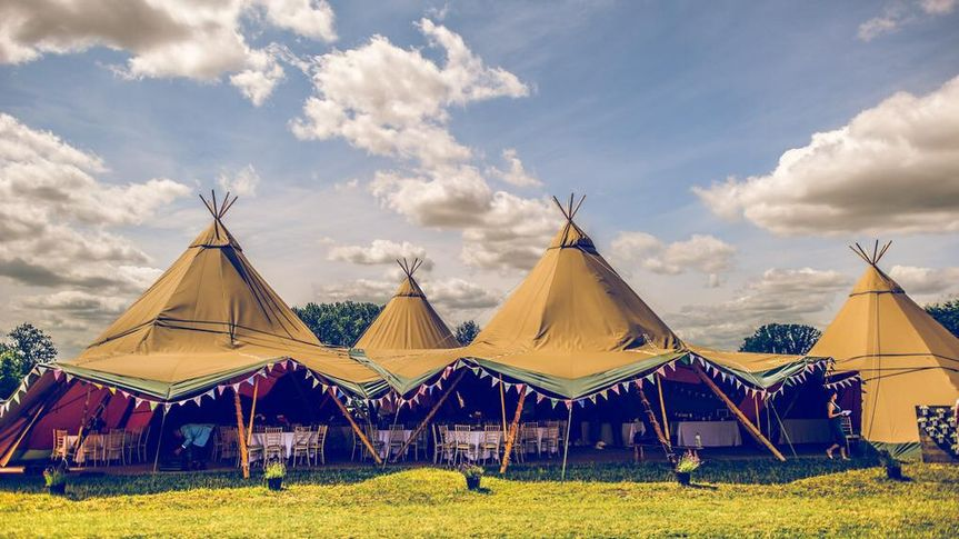 Tipi by day