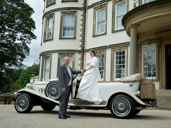 Stunning car for your special day