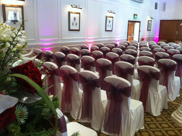 Bridal Chair Covers