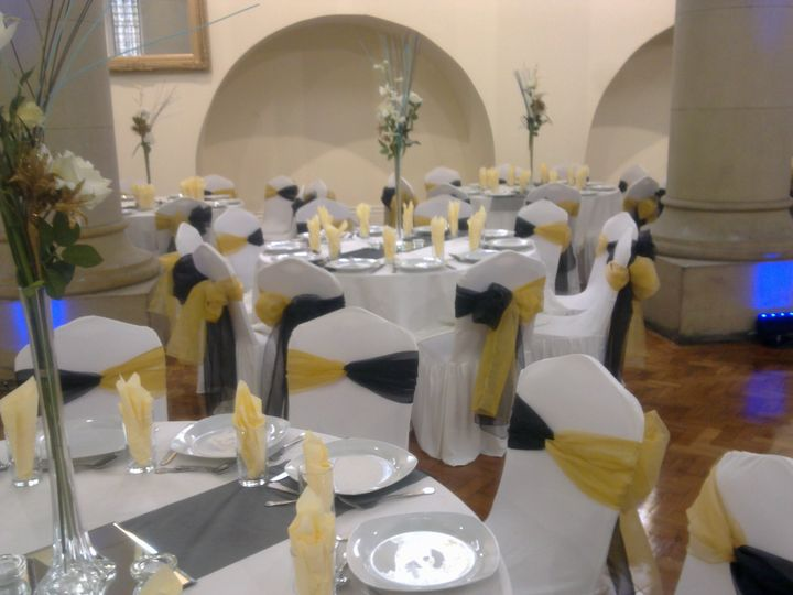 Wedding Chair Seat Covers