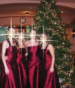 Four fabulous bridesmaids