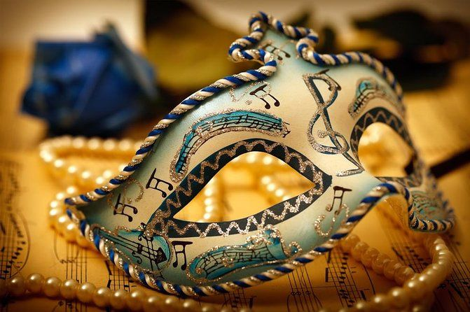 Masquerade themed event