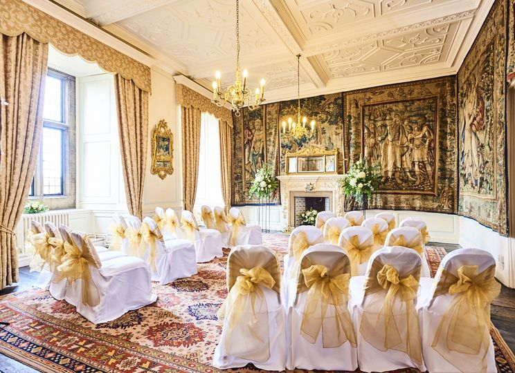 Wedding ceremony Durham Castle