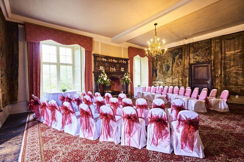 Indoor intimate ceremony