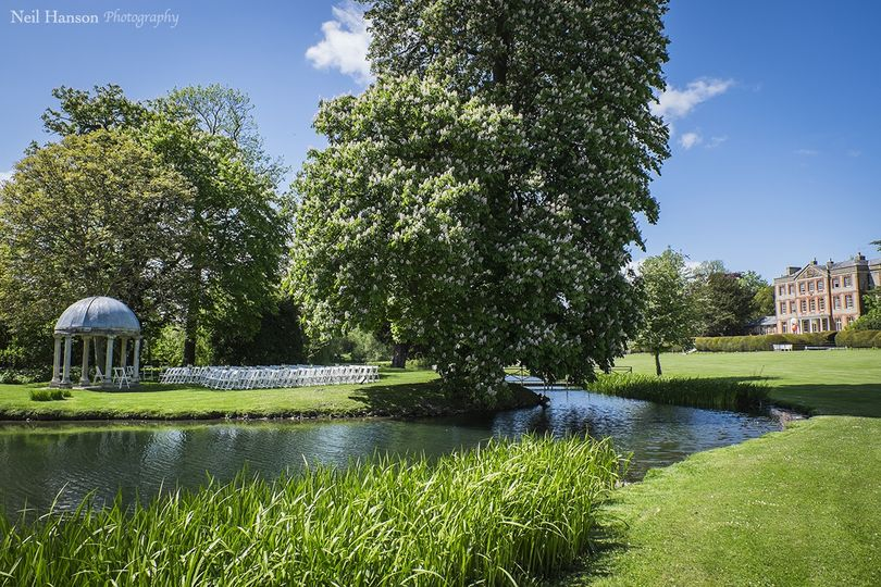 Garden Wedding grounds venue Oxfordshire