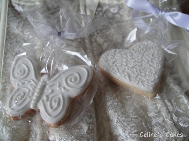 Butterfly & Filigree Heart Wedding Favours