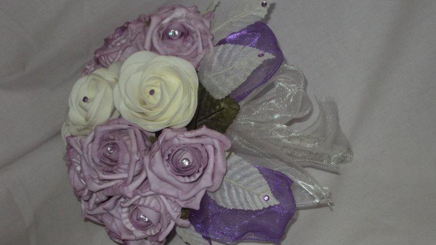 Bouquet in purples