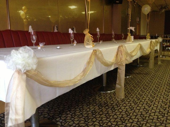 Golden Top Table