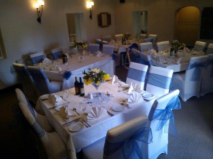 Blue Welsh Wedding