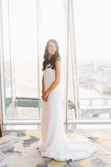 Natural wedding beauty