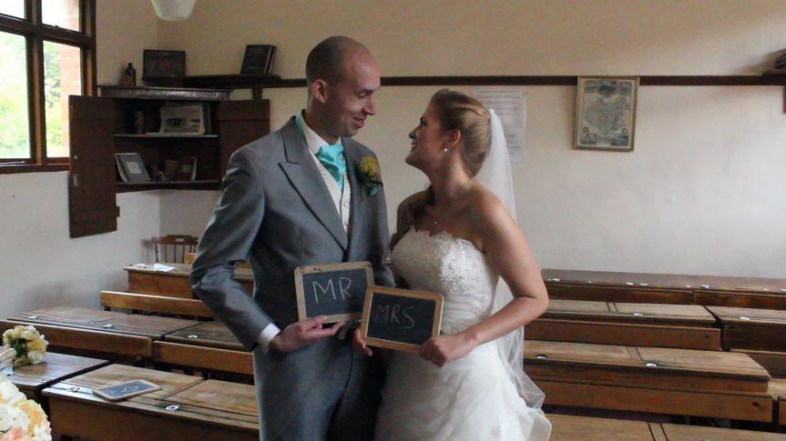 Teachers' wedding XX