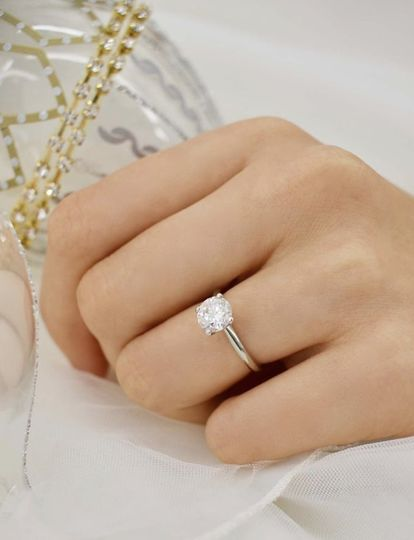 Grace solitaire setting