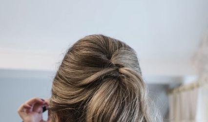 Faye Naomi Bridal hair 1