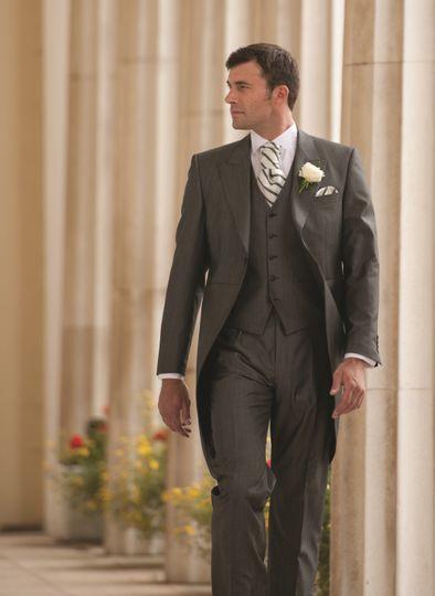 Silk Tailcoat Suit