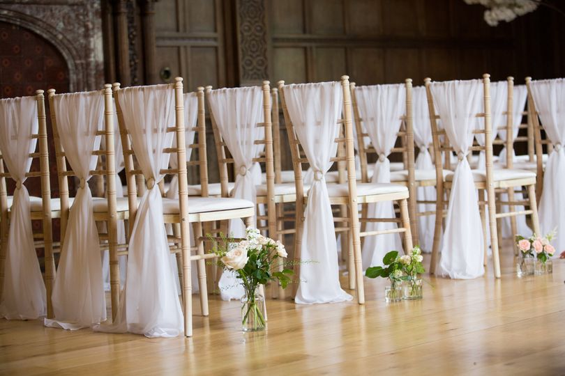 Wedding ceremony in the Grand Hall