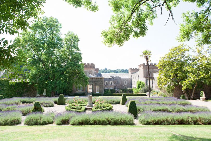 The enchanting formal gardens
