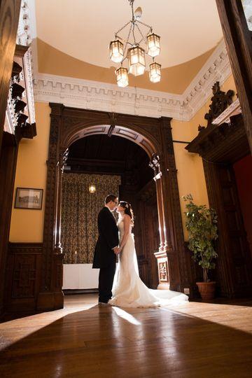 Couple on Oak Corridor