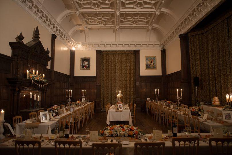 Grand Hall Wedding Breakfast