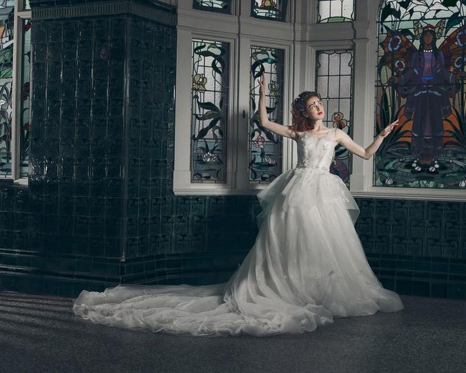 Princess-inspired gown