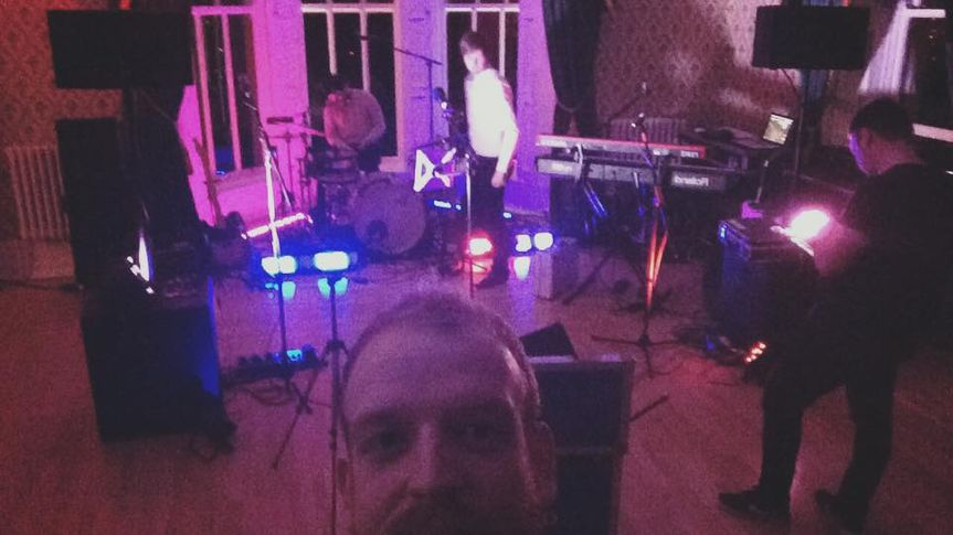 Setting up at Belfast Castle