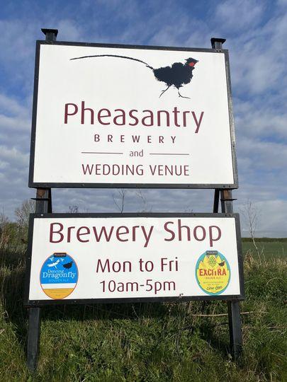 Pheasantry Brewery Entrance