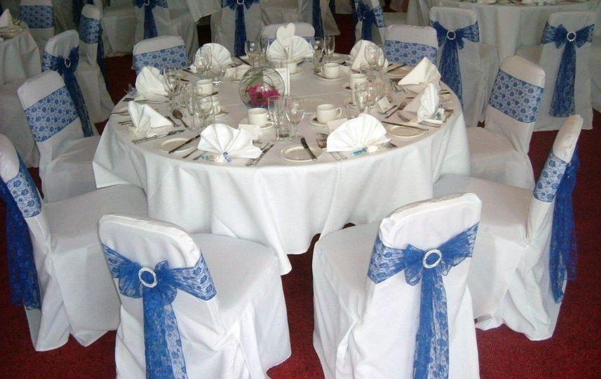 Ufford Park   Royal Blue Lace