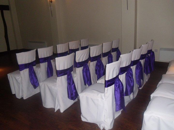Woodhall Manor  Purple Taffeta