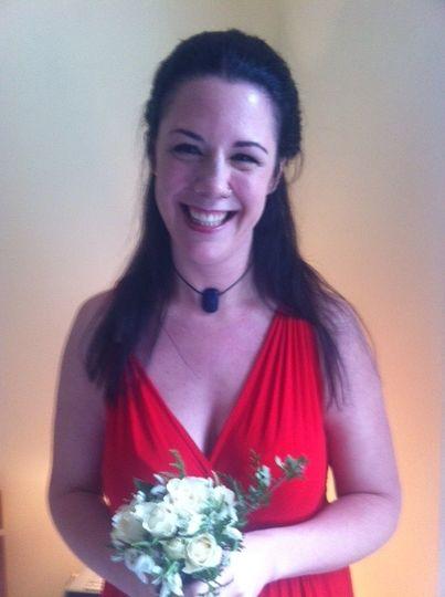 Wedding day make up