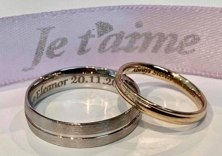 Ladies and Gents Wedding Rings