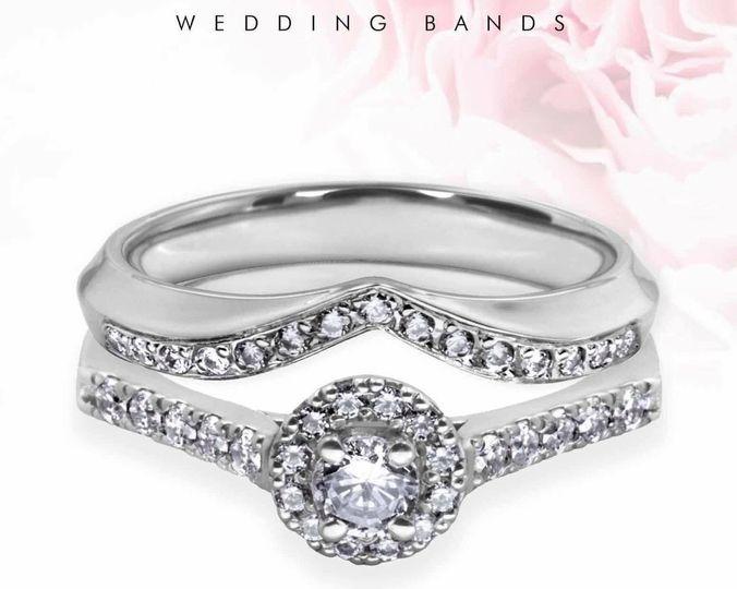 Bespoke Shaped Wedding Ring