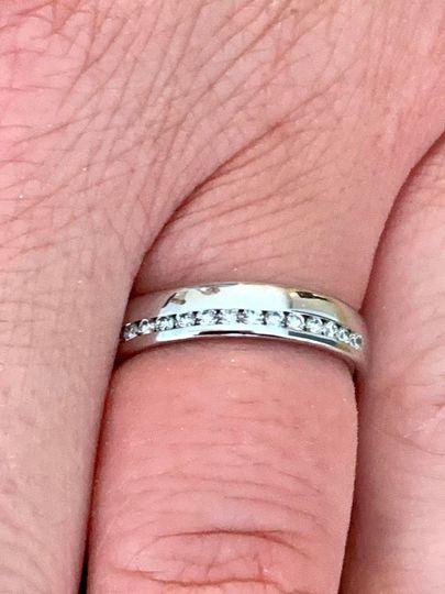 Ladies half set Wedding Ring