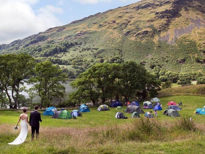 Barns at Llyn Gwynant Campsite 1