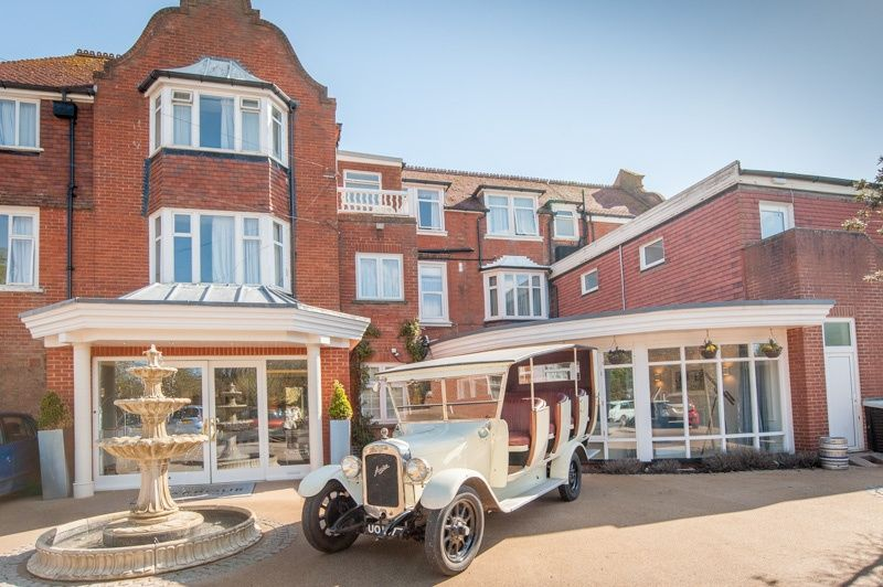 Wedding Car at Sidmouth Harbour Hotel