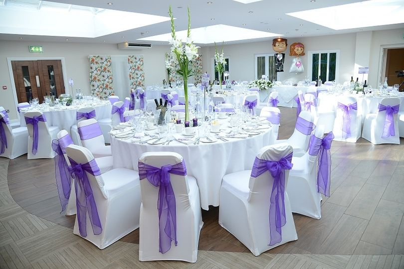 Iffley Blue Wedding Breakfast