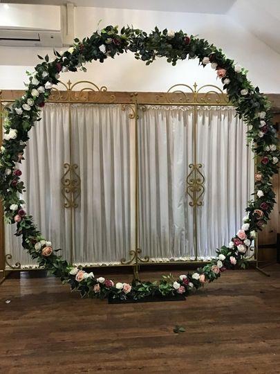 Flower hoop
