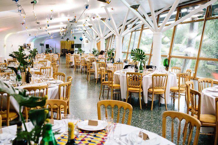 Table Layout Ecology Pavilion