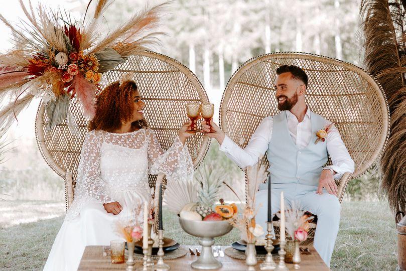 Tipi wedding inspiration