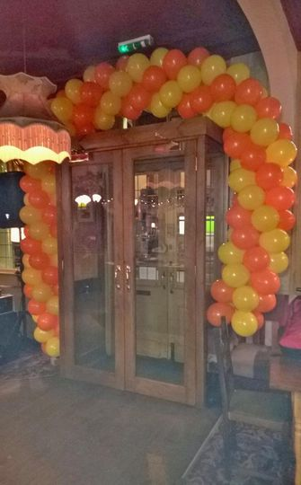 Balloon arch i designed