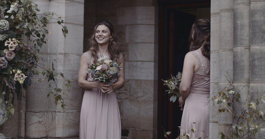 Church wedding film