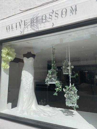 Olive Blossom Bridal Overton