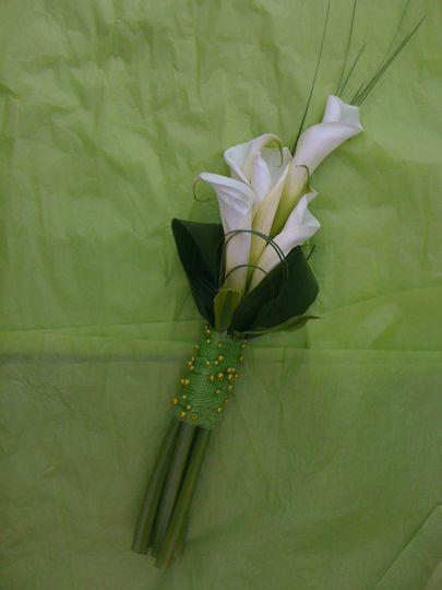 White Calla Lily Brides
