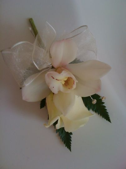 Rose/Orchid Button Hole/Corsage