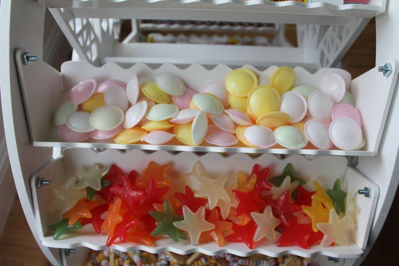 Selection of sweeties