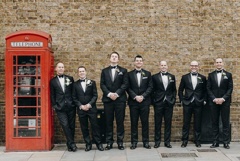 Ushers and telephone box