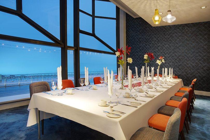 Wedding Breakfast with Seaviews