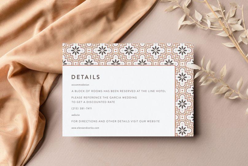 Tate  •  Wedding Stationery