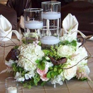 Floral Candle Decoration
